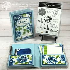 Todays post features a homemade ink pad and a multifaceted gift, made with the To a Wild Rose Bundle, a sneak peek from the 2019 - 2020 Annual Catalog.
