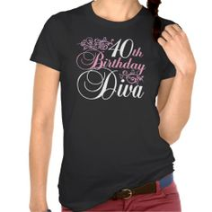 >>>Are you looking for          40th Birthday Diva Shirt           40th Birthday Diva Shirt so please read the important details before your purchasing anyway here is the best buyReview          40th Birthday Diva Shirt Online Secure Check out Quick and Easy...Cleck Hot Deals >>> http://www.zazzle.com/40th_birthday_diva_shirt-235269888580216706?rf=238627982471231924&zbar=1&tc=terrest