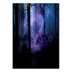 Mystic Night Large Business Card