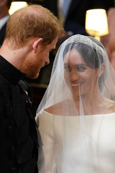 "Harry mouthed to his bride: ""You look so beautiful, I am so lucky."""