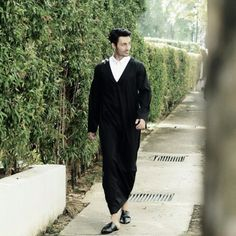 Tuxedo-inspired Khairy Jubbah by K. Alif. Would love to see him don this on our big day.