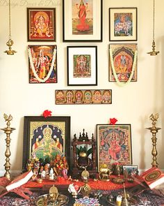 Traditional Indian Wall