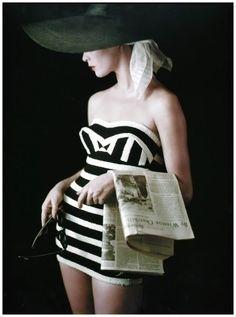 Model Jean Patchett - 1953 by Milton Greene