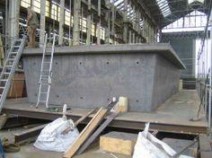 Concrete hull HUBB