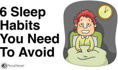6 Sleep Habits You Need To Avoid