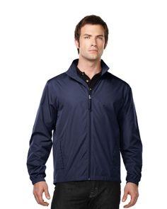 100% poly light weight mens jacket.  Tri mountain J1760  #lightweight #Jacket