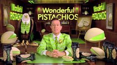 Wonderful Pistachios Stephen Colbert Super Bowl Commercial 2014, Parts 1 and 2 combined - YouTube