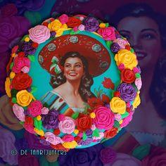 Mexican ladyWat een gave taart