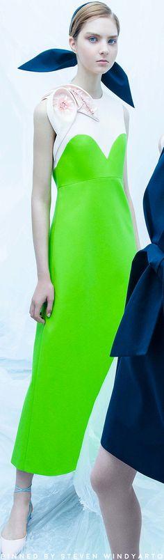 Delpozo Resort 2018 Fashion Show #resort2018 #womenswear #r18