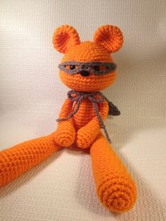 Crochet Teddy Superhero