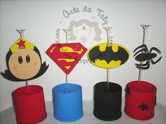 Fazendo Arte por aí!: Ideias e dicas - Festa Super-herois/ Vingadores!