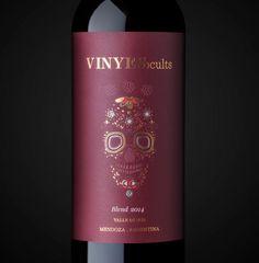 #packaging #Design #Skull #VinyesOcults #Wines #GraphicDesign #Design #Label #NewProject #Blend