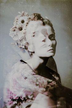 portraits - layering - haunting - fantastical by craig schlewitz