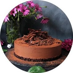 Tarta sedosa de chocolate - Mis Dulces Joyas Chocolate Cheesecake, Chocolate Cake, Meringue, Nutella Milkshake, Low Carb Recipes, Vegan Recipes, Paul Bocuse, Pumpkin Bundt Cake, Cake Shop