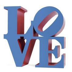 ROBERT INDIANA - LOVE - KUNZT.GALLERY http://www.widewalls.ch/artwork/robert-indiana/love-4/ #Print