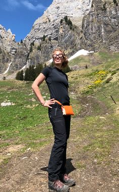Hiking with minibag in Switzerland alps. Use minibag as a bellybag :) Hiking Photography, Hiking Tips, Clutch, Happy Moments, Alps, Mini Bag, Switzerland, Take That, In This Moment