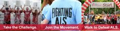 Register today for a Walk to Defeat ALS near you and join us in the fight against Lou Gehrig's disease. > www.alswalks.org