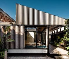 The renovation of this semi-detached workers cottage in Cremorne Melbourne was designed by Figr Architecture.  @figr_architecture  Photography credit: Tom Blachford @blachford
