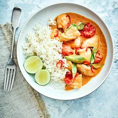 Cheat's chicken panang curry