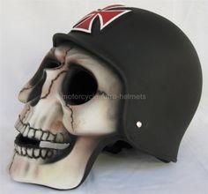 Full face Skull Helmet !