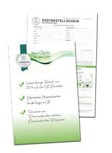 Premiumkunde werden und ab der ersten Bestellung 20 % Rabatt erhalten!