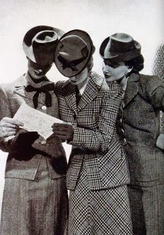 hats, hats, hats for career girls.  How I adored Paris...