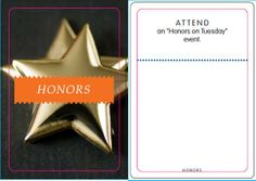 Honors: Honors on Tuesday event
