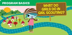 "Click on the ""What Juniors Do"" link on this page for a downloadable mini-poster. Use it to show girls and their families what Girl Scout program is all about at their grade level."