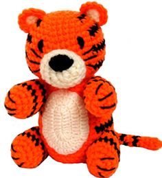 Amigurumi Patterns Tiger : Things Id like to Crochet on Pinterest Amigurumi ...