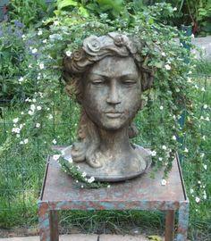 Graceful planter ~ Janie and Tom's City Garden