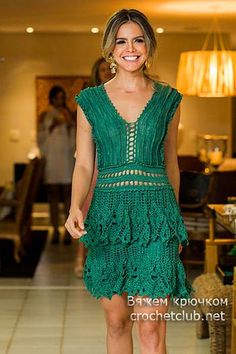 платье крючком alzira vieira 2