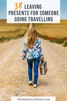 The best leaving presents and gifts for someone going travelling.  Here is a list of practical and fun things that make a perfect leaving present for someone going travelling.