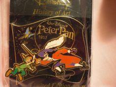 Peter Pan & Captain Hook History of Art (HOA) Disney Pin LE2900