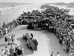 1931 daytona beach   malcolm campbell (bluebird) 4