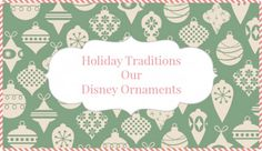 Holiday Traditions S