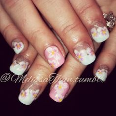 #nailartclub #nailart #nailpornography #nailsmagazine #floralnailart #prettynails