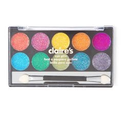 Neon Glitter Eye Makeup Kit | Claire's