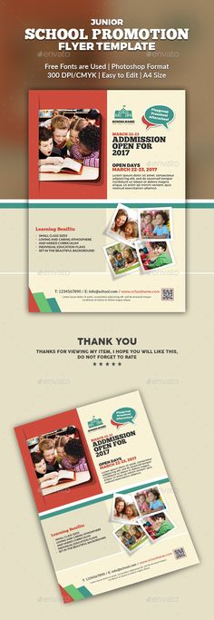 KidS School Promotion Flyer Poster Template  Kids S Promotion