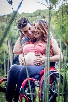 Cantinho dos Cadeirantes: Paratleta realiza sonho de ser mãe