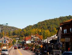 The Gatlinburg Strip is a favorite place to walk and shop in the Smokies. It has a great atmosphere!