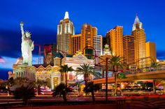 There is nothing like the real thing and New York City is very exciting but the Vegas version is fun and cheesy!