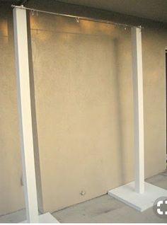 Diy Backdrop Stand, Backdrop Frame, Diy Wedding Backdrop, Flower Backdrop, Backdrop Holder, Diy Photo Booth Backdrop, Fabric Backdrop, Backdrop Ideas, Booth Ideas