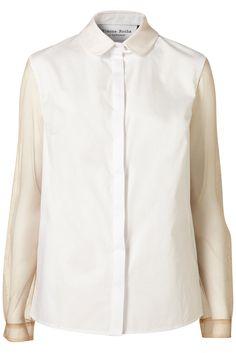 Topshop net sleeve shirt by Simone Rocha £75