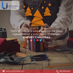 Gifts of time and love are surely the basic ingredients of a truly Merry Christmas. Email Marketing Services, Gift Of Time, Merry Christmas, Gifts, Merry Little Christmas, Presents, Happy Merry Christmas, Wish You Merry Christmas, Gifs