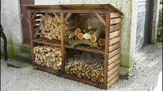 DIY Wooden Pallet Log   Pallets Furniture Designs