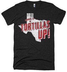 Texas Tech - Tortillas Up! - T-Shirt
