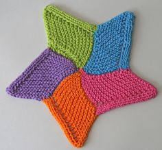 Starfish Cloth By Dione Read - Free Knitted Pattern - (ravelry)