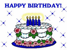 Happy Birthday Animated Clip Art | ... Animated clip art is classified into categories. Animated images work