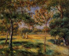 Explore The Woods With These Fine Renoir Paintings  | http://thebrushstroke.com/explore-woods-fine-renoir-paintings/