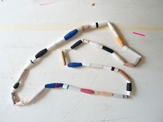 paper beads...like the 3rd grade (so making them again!)